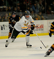 30 December 2007: University of Vermont Catamounts' forward Reese Wisnowski, a Senior from East Middlebury, VT, in action against the Quinnipiac University Bobcats at Gutterson Fieldhouse in Burlington, Vermont. The Bobcats defeated the Catamounts 4-1 to win the Sheraton/TD Banknorth Catamount Cup Tournament...Mandatory Photo Credit: Ed Wolfstein Photo