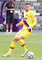 FC Barcelona's Clement Lenglet during La Liga match. July 11,2020. (ALTERPHOTOS/Acero)<br /> 11/07/2020<br /> Liga Spagna 2019/2020 <br /> Valladolid - Barcelona <br /> Foto Alterphotos / Insidefoto <br /> ITALY ONLY