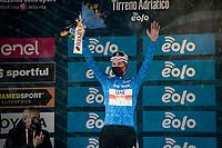 Tadej Pogačar (SVN/UAE-Emirates) retains the GC lead after stage 5 from Castellalto to Castelfidardo (205km)<br /> <br /> 56th Tirreno-Adriatico 2021 (2.UWT) <br /> <br /> ©kramon
