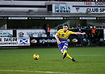 Dunfermline v St Johnstone…15.12.20   East End Park      BetFred Cup<br />Liam Craig scores the winning penalty<br />Picture by Graeme Hart.<br />Copyright Perthshire Picture Agency<br />Tel: 01738 623350  Mobile: 07990 594431