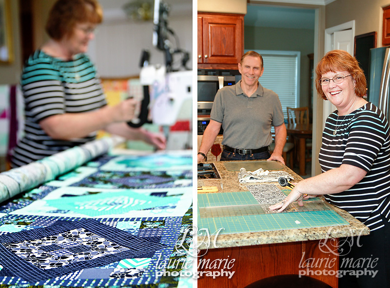 Salem Oregon family photography, quilting, quilter