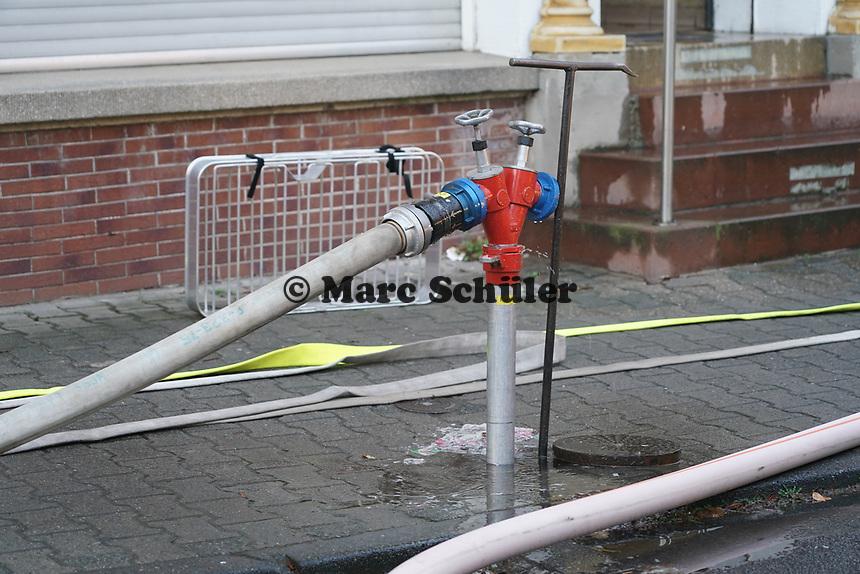 Hydrant - Büttelborn 17.03.2021: Brand in der Shisha-Bar Miami