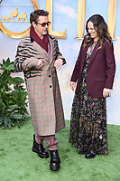 "Robert Downey Jr and wife, Susan<br /> arriving for the ""Dolittle"" premiere at the Empire Leicester Square, London.<br /> <br /> ©Ash Knotek  D3549 25/01/2020"
