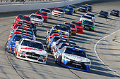 NASCAR XFINITY Series<br /> TheHouse.com 300<br /> Chicagoland Speedway, Joliet, IL USA<br /> Saturday 16 September 2017<br /> Daniel Suarez, Comcast Business / Juniper Toyota Camry and Cole Custer, Haas Automation Ford Mustang<br /> World Copyright: Russell LaBounty<br /> LAT Images