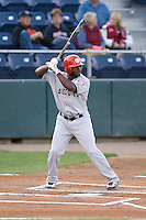 September 1, 2009: Vancouver Canadians' Tyreace House at-bat during a Northwest League game against the Everett AquaSox at Everett Memorial Stadium in Everett, Washington.