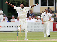 Danish Kaneria of  Essex is seen in bowling action - Essex CCC vs Surrey CCC - LV County Championship Division Two Cricket at Castle Park, Colchester -  20/08/09 - MANDATORY CREDIT: Gavin Ellis/TGSPHOTO - Self billing applies where appropriate - Tel: 0845 094 6026