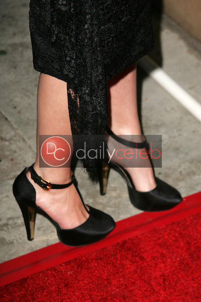"""Avril Lavigne's shoes<br />at the Los Angeles Premiere of """"Fast Food Nation"""". Egyptian Theater, Hollywood, CA. 11-10-06<br />Dave Edwards/DailyCeleb.com 818-249-4998"""