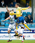 Greenock Morton v St Johnstone….09.07.19      Cappielow        Pre-Season Friendly<br />Murray Davidson and Jim McAlister<br />Picture by Graeme Hart. <br />Copyright Perthshire Picture Agency<br />Tel: 01738 623350  Mobile: 07990 594431