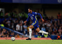 22nd September 2021; Stamford Bridge, Chelsea, London, England; EFL Cup football, Chelsea versus Aston Villa; Ruben Loftus-Cheek of Chelsea