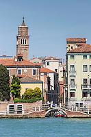Italie, Vénétie, Venise:   Ponte agli Incurabili    // Italy, Veneto, Venice:  Ponte agli Incurabili