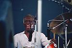 Art Blakey, Sep 1981 : Art Blakey performing at Aurex Jazz Fes. '81 Japan.