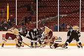 Christopher Brown (BC - 10), Shane Kavanagh (PC - 17), Robbie Hennessey (PC - 25), Jesper Mattila (BC - 8), Austin Cangelosi (BC - 9), Connor Moore (BC - 7) - The Boston College Eagles defeated the Providence College Friars 3-1 (EN) on Sunday, January 8, 2017, at Fenway Park in Boston, Massachusetts.The Boston College Eagles defeated the Providence College Friars 3-1 (EN) on Sunday, January 8, 2017, at Fenway Park.
