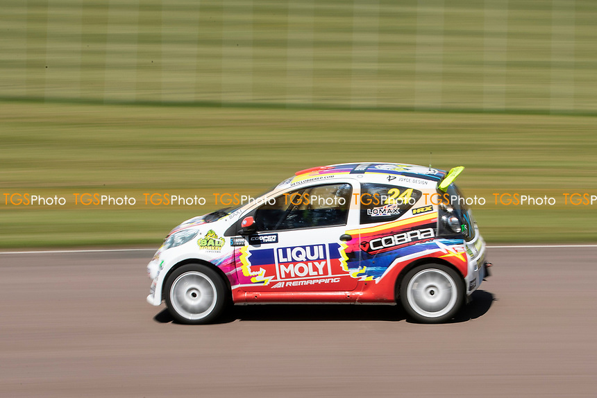 Craig Lomax, Citreon C1, Super 1600 during the 5 Nations BRX Championship at Lydden Hill Race Circuit on 31st May 2021