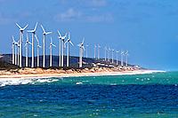 Usina Eolica em Barra de Camaratuba. Paraiba. 2015. Foto de Kleide Teixeira.