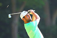 Pablo Larrazabal tees off the #2 tee during the BMW PGA Golf Championship at Wentworth Golf Course, Wentworth Drive, Virginia Water, England on 26 May 2017. Photo by Steve McCarthy/PRiME Media Images.