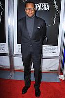 "NEW YORK, NY - NOVEMBER 06: Geoffrey Fletcher New York Special Screening of Paramount Pictures' ""Nebraska"" held at Paris Theater on November 6, 2013 in New York City. (Photo by Jeffery Duran/Celebrity Monitor)"