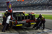 2017 Camping World Truck - NextEra Energy Resources 250<br /> Daytona International Speedway, Daytona Beach, FL USA<br /> Friday 24 February 2017<br /> Myatt Snider pit stop<br /> World Copyright: Barry Cantrell/LAT Images<br /> ref: Digital Image 17DAY2bc2469