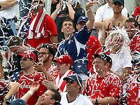 USA Fans, New Zealand vs. USA, Richmond, Va.