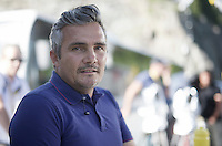 Richard Virenque is in the Tour as presenter of the french EuroSport show at each finish<br /> <br /> stage 17: Bern (SUI) - Finhaut-Emosson (SUI) 184.5km<br /> 103rd Tour de France 2016