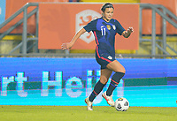 BREDA, NETHERLANDS - NOVEMBER 27: Sophia Smith #11 of the United States moves with the ball during a game between Netherlands and USWNT at Rat Verlegh Stadion on November 27, 2020 in Breda, Netherlands.