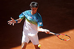 Thomas Bellucci, Brazil, during Madrid Open Tennis 2016 match.May, 2, 2016.(ALTERPHOTOS/Acero)