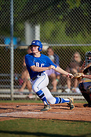 Carter Ruffner (6) during the WWBA World Championship at Lee County Player Development Complex on October 9, 2020 in Fort Myers, Florida.  Carter Ruffner, a resident of Richmond, Kentucky who attends Madison Central High School.  (Mike Janes/Four Seam Images)