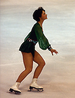 Annett Potzsch East Germany 1978 World Figure Skating Championships, Ottawa Canada. Gold Medal winner. Photo copyright Scott Grant.