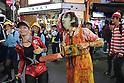 Halloween festivities in Tokyo 2018