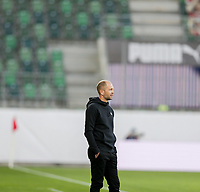 ST. GALLEN, SWITZERLAND - MAY 30: Gregg Berhalter  head coach of the United States during a game between Switzerland and USMNT at Kybunpark on May 30, 2021 in St. Gallen, Switzerland.