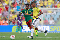 Colombia's Wilmar Barrios (r) and Cameroon's Andre-Frank Zambo Anguissa during international friendly match. June 13,2017.(ALTERPHOTOS/Acero) (NortePhoto.com) (NortePhoto.com)
