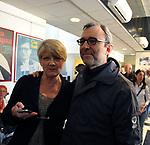 RITA BERNARDINI E ROBERTO GIACHETTI<br /> FESTA DEGLI 85 ANNI DI MARCO PANNELLA<br /> SEDE PARTITO RADICALE  ROMA 2015