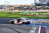 #11: Denny Hamlin wins the O'Reilly Auto Parts 500 driving the Toyota Camry FedEx Office for Joe Gibbs Racing