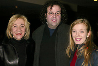 """Olympia Dukakis, Thom Fitzgerald and Sarah Polley arriving at The 2003 Sundance Film Festival's screening of """"The Event"""" at The Eccles Theatre in Park City, Utah on January 19, 2003.  Photo Credit: Henry McGee/MediaPunch"""