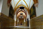 Palacio Gotico (also known as the Halls of CharlesV)Salas de las Fiestas (or Halls of Celebration 1576-88 in El Alcazar in Seville, Spain.
