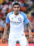 BRISBANE, AUSTRALIA - OCTOBER 30: Tim Cahill of Melbourne looks on during the round 5 Hyundai A-League match between the Brisbane Roar and Melbourne City at Suncorp Stadium on November 4, 2016 in Brisbane, Australia. (Photo by Patrick Kearney/Brisbane Roar)