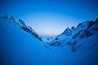 Sunrise French Alps