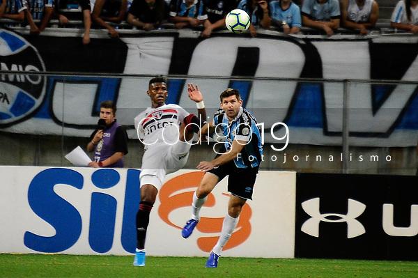 PORTO ALEGRE, RS, 01.12.2019 - GREMIO - SAO PAULO - Kanemann, na partida entre Grêmio e São Paulo, pela 36. rodada do Campeonato Brasileiro 2019, no estádio Arena Grêmio, em Porto Alegre, neste domingo (1).