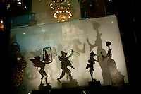 Le Theatre d'Ombres ('Shadow Play') display at the Institut Lumiere, Lyon, France, 13 January 2012