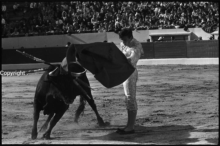 11 Mai 1969. Vue de la corrida de Teruel dans les arènes de Toulouse.