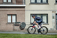 eventual race winner Dylan van Baarle (NED/INEOS Grenadiers) solo's 50km to the finish<br /> <br /> 76th Dwars door Vlaanderen 2021 (MEN1.UWT)<br /> 1 day race from Roeselare to Waregem (184km)<br /> <br /> ©kramon