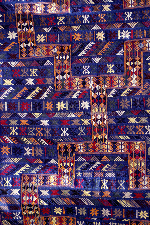 South central Niger - Tuareg Carpet, Geometric Design