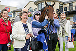 DUBLIN, IRELAND - SEPTEMBER 10: Ardhoomey #1, ridden by Colin Keane and trained by Ger Lyons, wins the Willis Champions Juvenile Stakes on Champion Stakes Day at Leopardstown Race Course on September 10, 2016 in Dublin, Ireland. (Photo by Aindreas Lynch/Eclipse Sportswire/Getty Images)