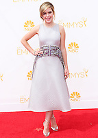LOS ANGELES, CA, USA - AUGUST 25: Actress Kiernan Shipka arrives at the 66th Annual Primetime Emmy Awards held at Nokia Theatre L.A. Live on August 25, 2014 in Los Angeles, California, United States. (Photo by Celebrity Monitor)