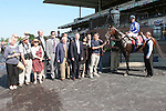 Summer Front with Ramon Dominguez win the Grade III $150,000 Hill Prince Stakes for 3-year olds, going 1 mile on the Widner Turf course at Belmont. .  Trainer Christophe Clement.  Owner Waterford Stables.