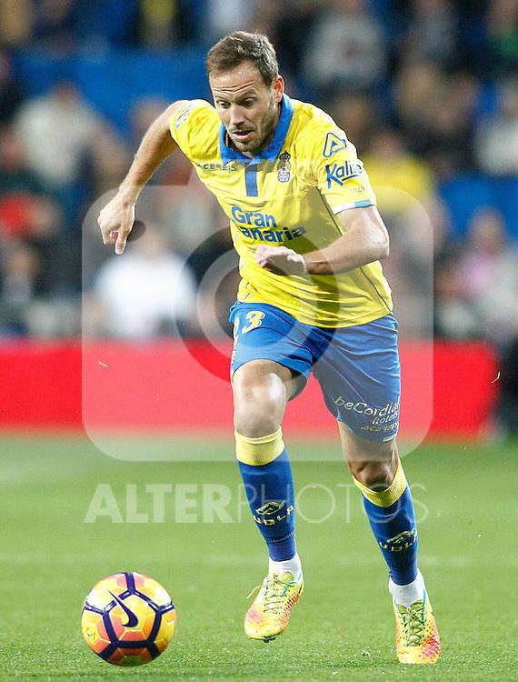 UD Las Palmas' Dani Castellano during La Liga match. March 1,2017. (ALTERPHOTOS/Acero)