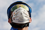 Carlos Barbero (ESP) NTT Pro Cycling at sign on before the start of Stage 8 of the Vuelta Espana 2020 running 160km from Logroño to Alto de Moncalvillo, Spain. 28th October 2020.   <br /> Picture: Luis Angel Gomez/PhotoSportGomez | Cyclefile<br /> <br /> All photos usage must carry mandatory copyright credit (© Cyclefile | Luis Angel Gomez/PhotoSportGomez)