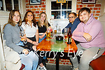 Enjoying the evening in Sean Og's on Thursday, l to r: Julia Soliwoda,  Bronwyn Foley, Lauren O'Shea, Bawel Jral and Karol Jurecki.