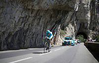 Vincenzo Nibali (ITA/Astana)<br /> <br /> stage 13 (ITT): Bourg-Saint-Andeol - Le Caverne de Pont (37.5km)<br /> 103rd Tour de France 2016