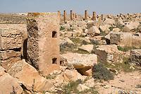 Sidi Hamdan, Libya - Ruins of Roman Olive Oil Press, 1st-3rd Century A.D.