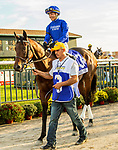 SEPT 25, 2021: Speaker's Corner post parade in the Gr.1 Pennsylvania Derby, for 3-year olds, going 1 1/8 mile, at Parx Racing, Bensalem, PA. Sue Kawczynski/Eclipse Sportswire/CSM
